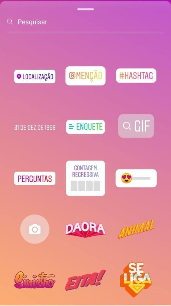 ferramentas profissionais nos stories do instagram