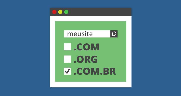 como escolher um dominio para o meu site