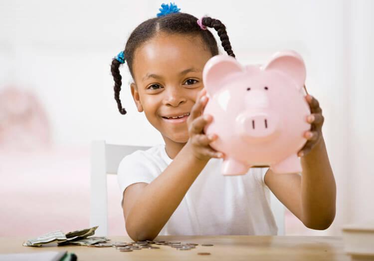 crianças ganhando dinheiro na programação