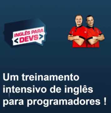 curso ingles para devs do filipe e vitor