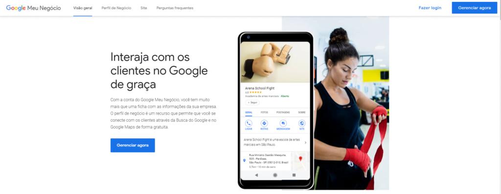 google meu negocio cadastro passo-a-passo